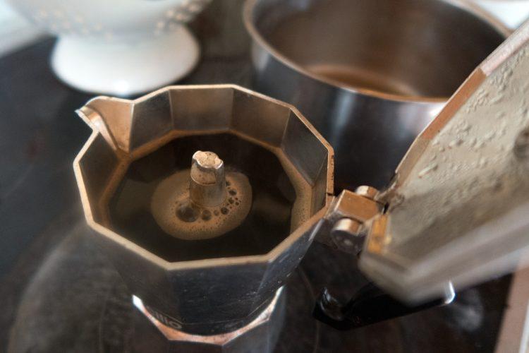 Espressokocher für Espresso