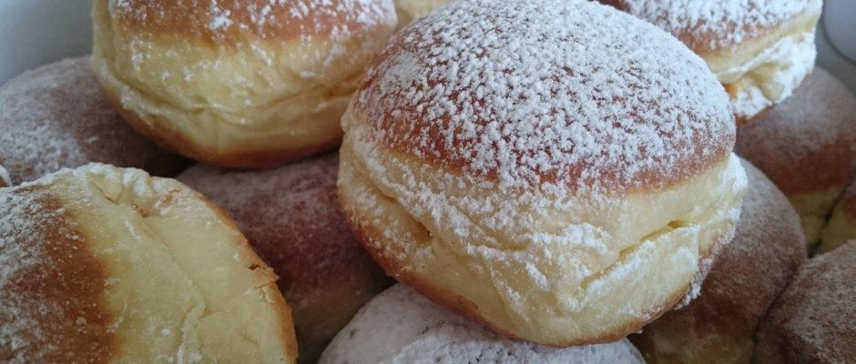 Schnelles Rezept für Berliner Pfannkuchen