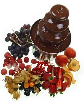 Süßes Silvester Dinner Mit Schokoladenbrunnen Genuss Blog Kaffee