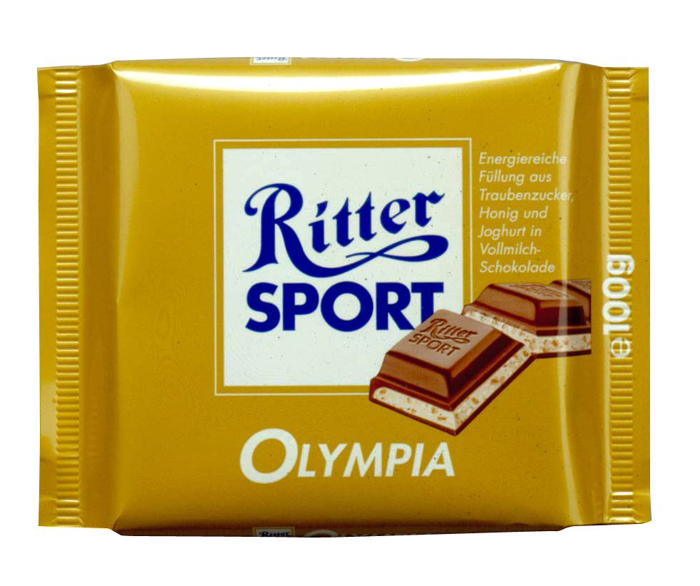 Copyright Ritter Sport - Olympia!