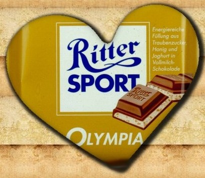 Ritter Sport Olympia Aktion
