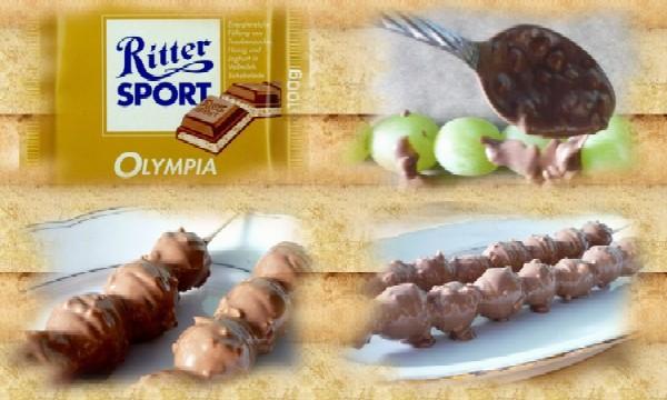 Ritter Sport Olympia Fruchtspieße - Copyright genuss-blog.de