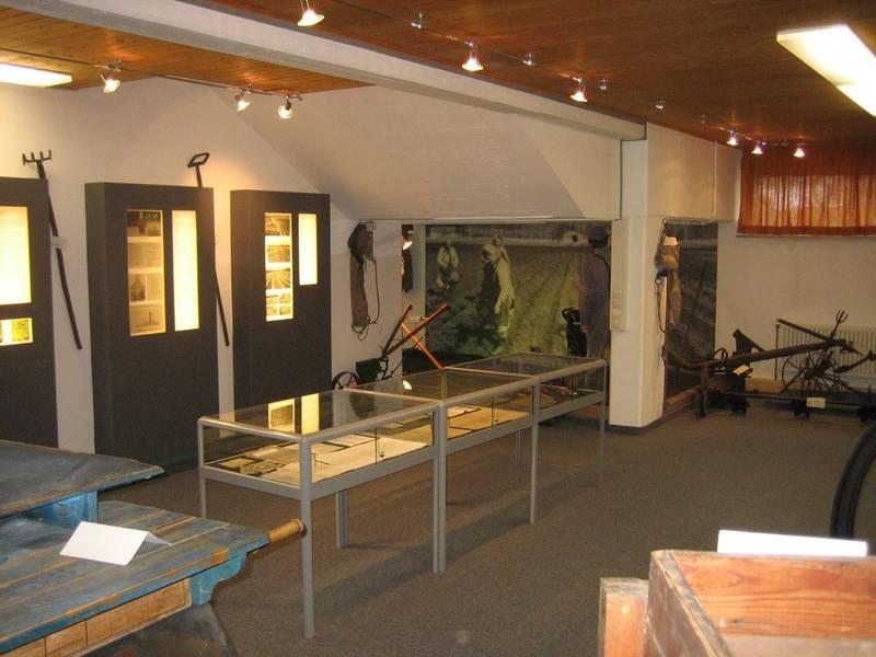 Innenbereich des Pfefferminze Museums