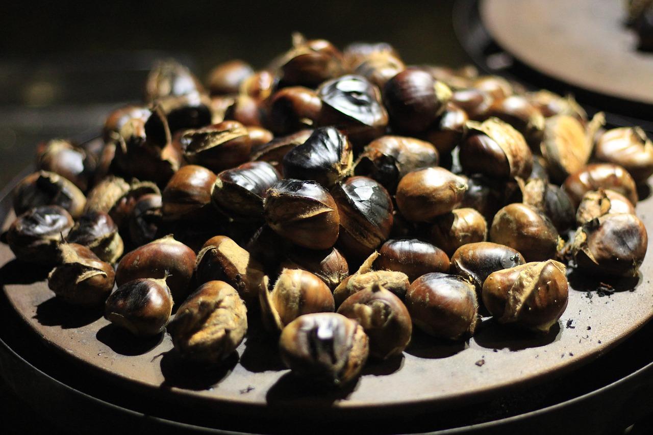 Esskastanien als fettarmer Snack