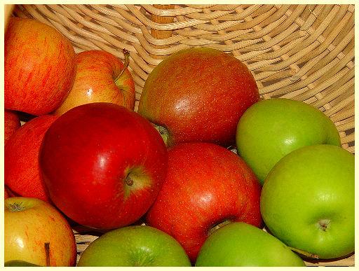 Äpfel immer extra lagern