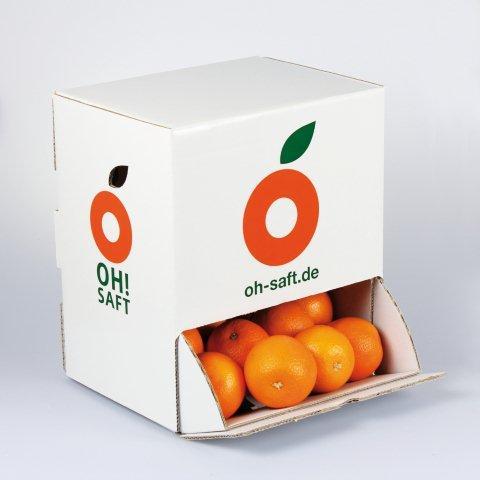 Orangenbox von Oh Saft