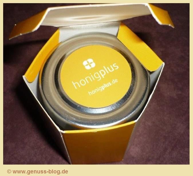Honig von Honigplus verpackt