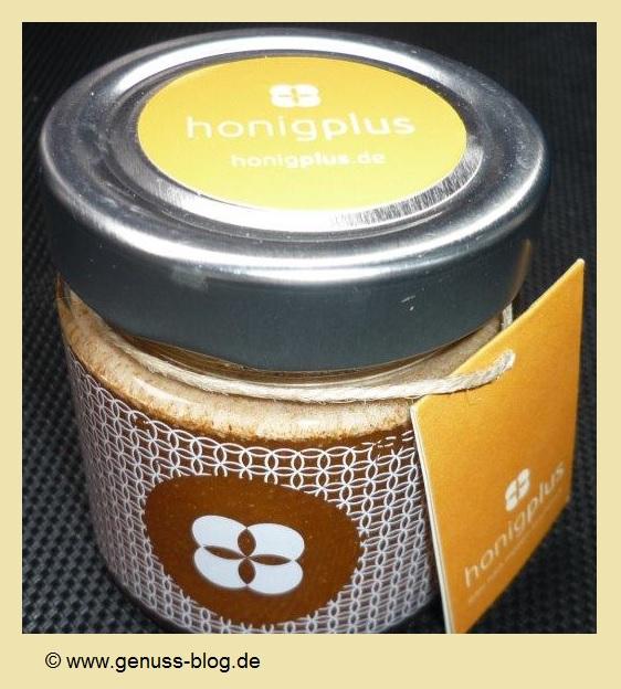 Honig mit Zimt von Honigplus im Glas