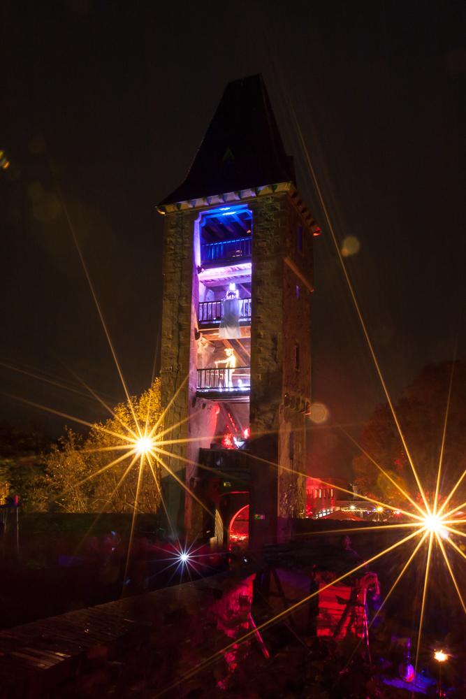 Halloween Festival auf der Burg Frankenstein in Mühltal