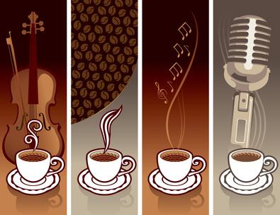 Passende Musik zum Kaffee