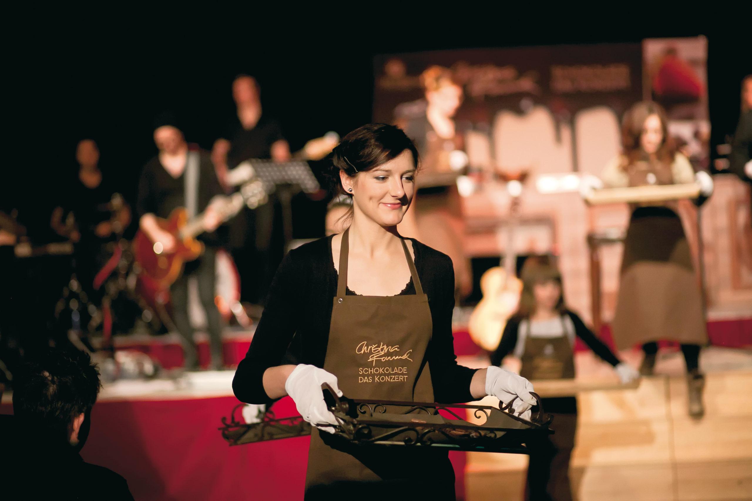 Schokoladenkonzert von Christina Rommel – Erlebnis für Gaumen, Augen, Ohren und Seele