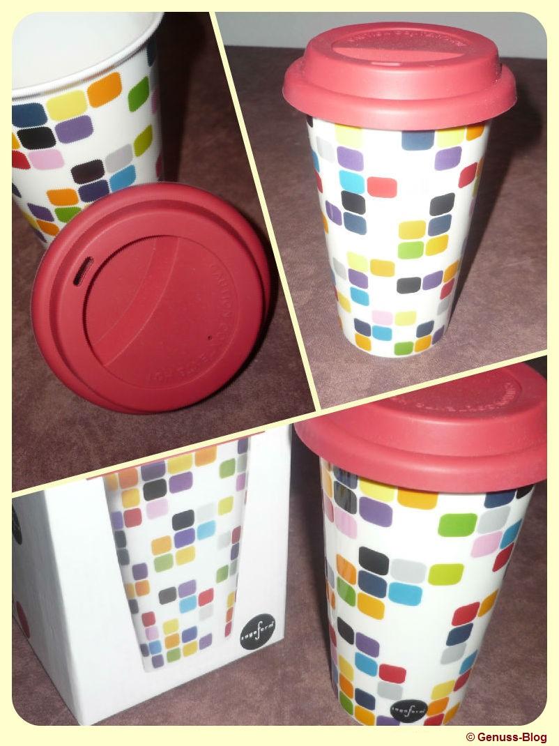 Weihnachtsverlosung: Coffee To-Go Becher au Porzellan von Sagaform