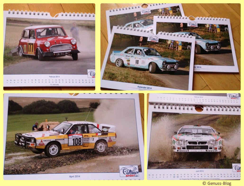 Collage-Oldtimer-Jahreskalender2014-Genuss-Blog-Verlosung