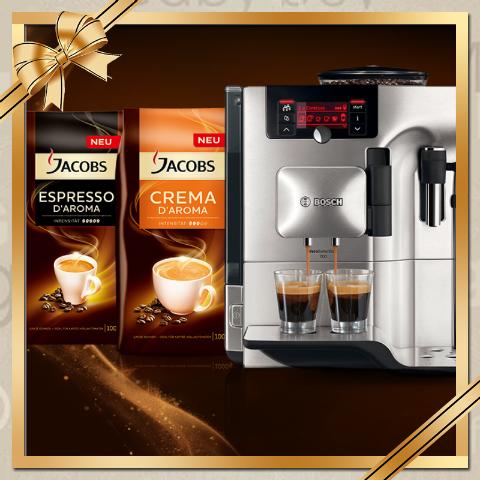 Nikolaus Gewinnspiel: Ich Verlose einen Kaffeevollautomaten von Bosch [Beendet]