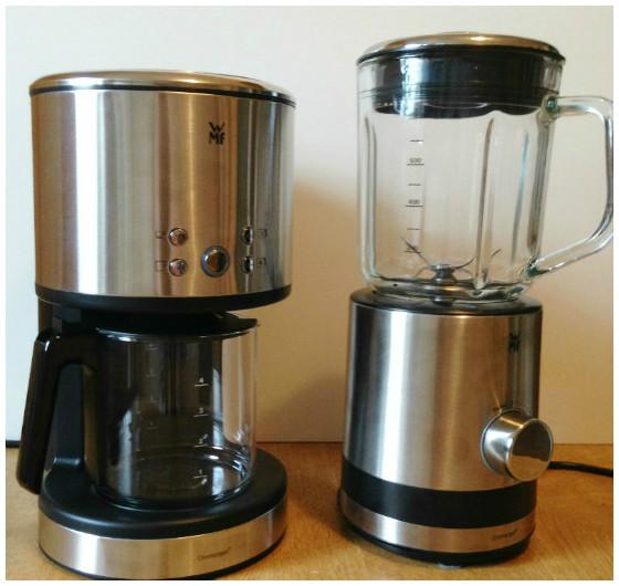 WMF Kaffeefiltermaschine für eine Tasse + Kompaktmixer für 0,8 Liter