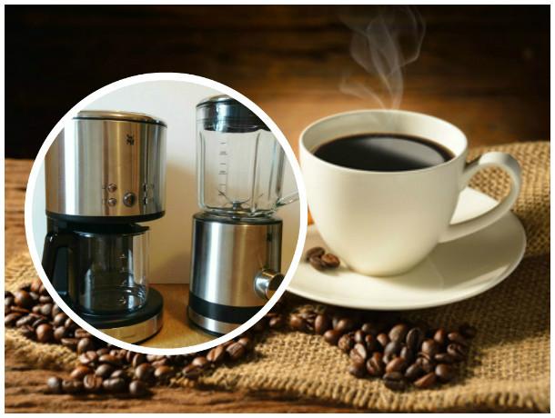 WMF Küchenminis: AromaOne Kaffeefiltermaschine + Kompaktmixer